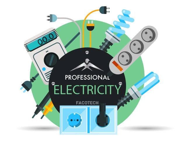électricité electricite prise électrique fils couleurs interrupteur ampoule led ruban led 220v 18v chargeur batterie